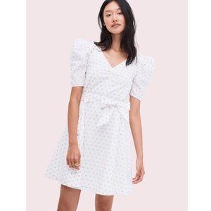 Kate Spade Dot Cotton Mini Dress